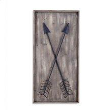 Arrows Wall Plaque