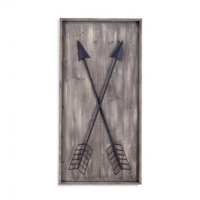 Arrows Wall Plaque