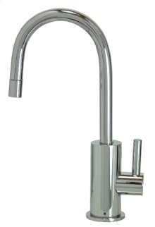 Francis Anthony Collection - Point-of-Use Drinking Faucet with Contemporary Round Base & Handle - Polished Chrome