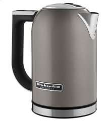 Electric Kettle - Cocoa Silver