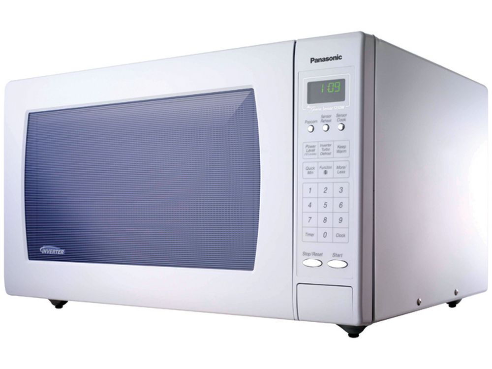 Panasonic Refurbished 2 Cu Ft Countertop Microwave With Inverter Technology Nn H965wf Rf White