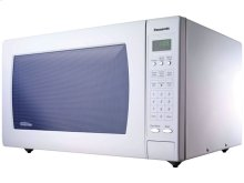 REFURBISHED 2.2 Cu. Ft. Countertop Microwave with Inverter Technology NN-H965WF-RF, White