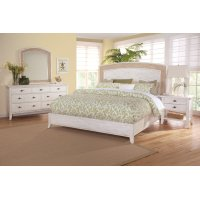 Fairwinds Arched Seagrass Bedroom Set Product Image