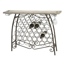 Rhodes Wine Holder Console