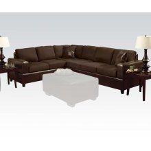 Sectional Sofa W/2 Pillows