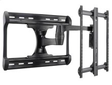 "Black Full-Motion Wall Mount for 37"" - 65"" flat-panel TVs - extends 28"" / 71.12 cm"