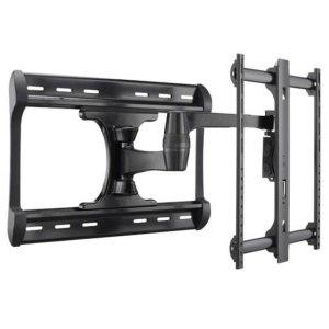 """SanusBlack Full-Motion Wall Mount for 37"""" - 65"""" flat-panel TVs - extends 28"""" / 71.12 cm"""