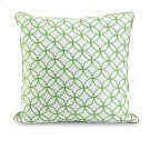 Essentials Green Embroidered Pillow Product Image