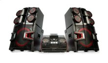 3200W 2.2ch HiFi DJ System with Dual Subwoofers and Bluetooth Connectivity