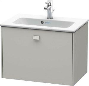 Vanity Unit Wall-mounted Compact, Concrete Grey Matt Decor Product Image