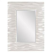 Zenith Mirror - Glossy White
