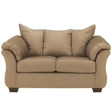 Signature Design by Ashley Darcy Loveseat in Mocha Microfiber [FSD-1109LS-MOC-GG]
