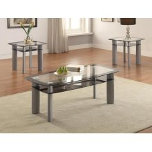 3-pk Echo Cocktail Table Base