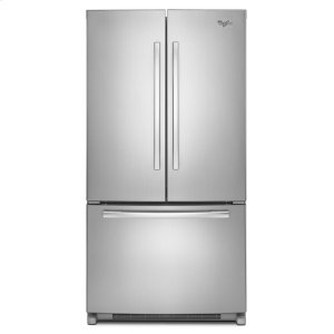 36-inch Counter Depth French Door Refrigerator with Temp-Controlled Full-Width Pantry - MONOCHROMATIC STAINLESS STEEL