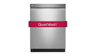 Top Control Dishwasher With Quadwash and Height Adjustable 3rd Rack