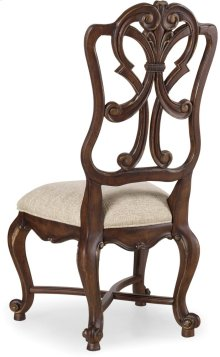 Adagio Wood Back Side Chair