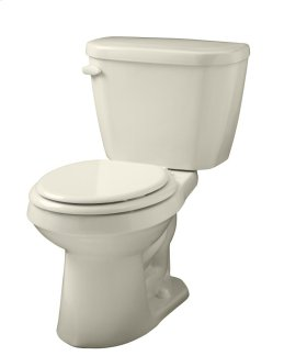 """White Viper® 1.28 Gpf 12"""" Rough-in Two-piece Round Front Toilet"""