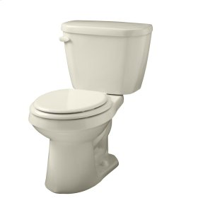 """Bone Viper® 1.28 Gpf 12"""" Rough-in Two-piece Round Front Toilet"""