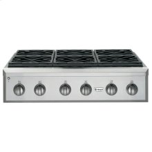 "GE Monogram® 36"" Professional Gas Rangetop with 6 Burners (Liquid Propane)"
