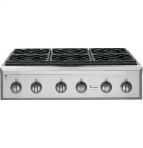 "36"" Pro Rangetop with 6 Burners"