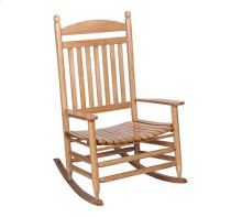 Slat Rocker in Maple Matte