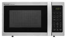 0.7 cu. ft. 700W Sharp Stainless Steel Carousel Countertop Microwave Oven (SMC0711BS)