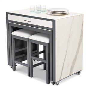 Sarreid Ltd*Kitchen Island W/Table & Stools