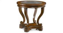 Deschanel Round Lamp Table