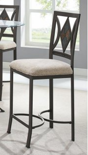 Diamond Tile Counter Stool Product Image