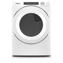 Whirlpool® 7.4 cu.ft Front Load Heat Pump Dryer with Intiutitive Touch Controls, Advanced Moisture Sensing - White