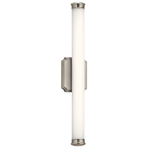 """Cambria 26"""" LED Linear Vanity Light Brushed Nickel"""