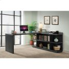 Perspectives - Peninsula Bookcase - Ebonized Acacia Finish Product Image