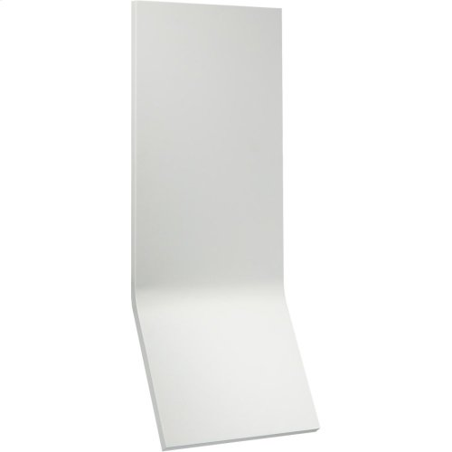 Visual Comfort PB2050WHT Peter Bristol Bend LED 20 inch Distressed White Outdoor Wall Light, Large Tall