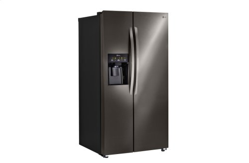 LG Black Stainless Steel Series 26 cu. ft. Ultra Capacity Side-By-Side Refrigerator