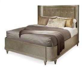 Morrissey California King Lloyd Upholstered Shelter Bed