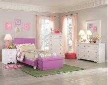 Lavender Storage Bench