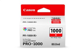 Canon PFI-1000 Red Ink Tank Red Individual Ink Tank