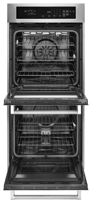 """24"""" Double Wall Oven with True Convection - Stainless Steel"""