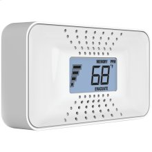 Carbon Monoxide Alarm with Temperature, Digital Display & 10-Year Sealed Battery