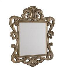 Silver Leaf Accent Mirror