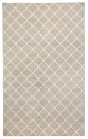 Fence Natural Linen Hand Knotted Rugs