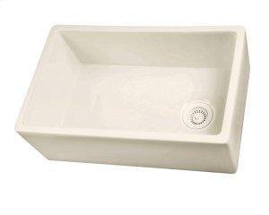 "FS30 Single Bowl Fireclay Farmer Sink - 30"" - White Product Image"
