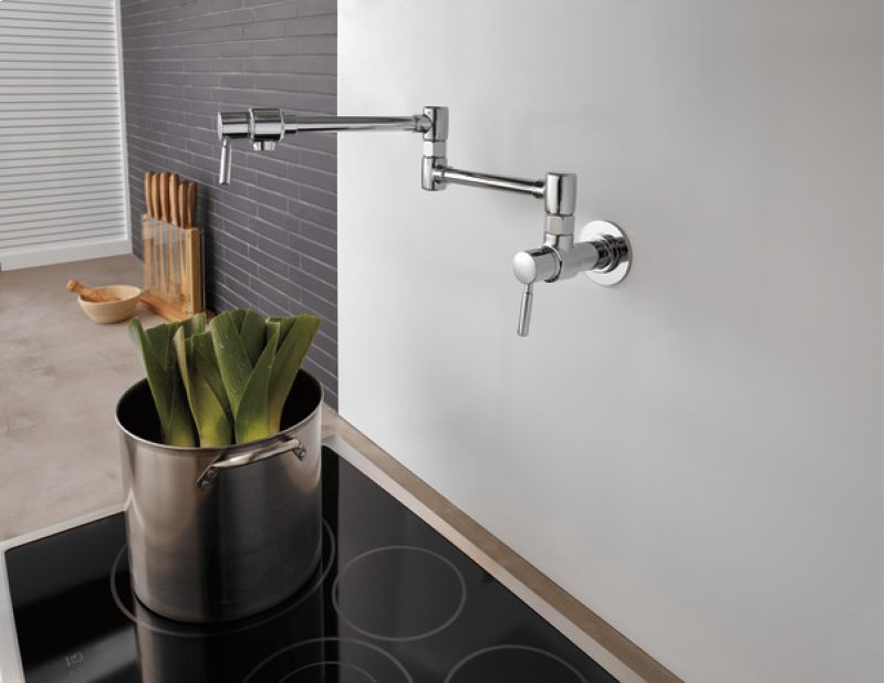 62820lfpc In Chrome By Brizo In Raleigh Nc Euro Wall Mount Pot