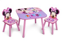 Minnie Mouse Table & Chair Set - Style 1