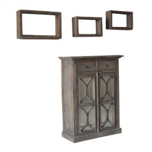 S/4 Durian Cabinet&3 Shelves
