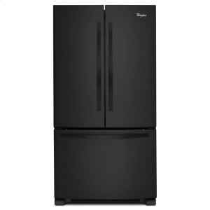 33-inch Wide French Door Refrigerator with Accu-Chill System - 22 cu. ft. - BLACK