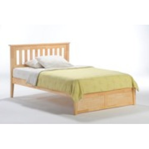 Rosemary Bed in Natural Finish