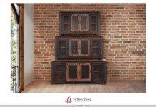 """60"""" TV Stand w/4 doors & Shelves"""