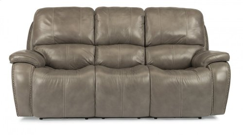 MacKay Leather Power Reclining Sofa