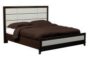 American Modern 12-Panel Upholstered Queen Bed Product Image